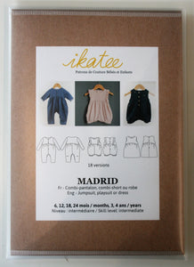 Madrid Baby 6m-4yr - Jumpsuit/Playsuit - ikatee