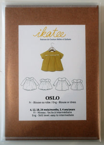 Oslo Baby Girl 6m-4yr - Blouse & Dress - ikatee