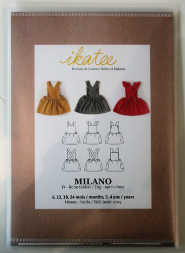 Milano Baby Girl 6m-4yr - Dress - ikatee