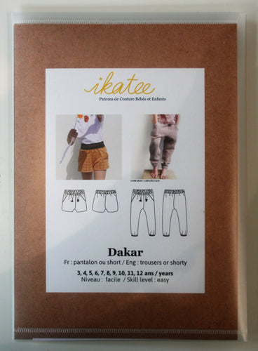 Dakar  Girls 3yr-12yr - Trousers or Shorts- Ikatee