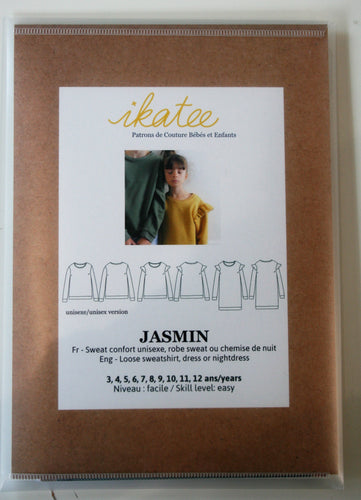 Jasmin Kids 3yr-12yr - Sweatshirt/Dress - ikatee