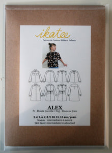 Alex Kids 3yr-12yr - Blouse or Dress - ikatee