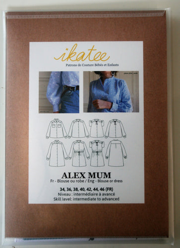 Alex Mum - Blouse or Dress - ikatee