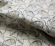 Sketched Flowers - Cotton