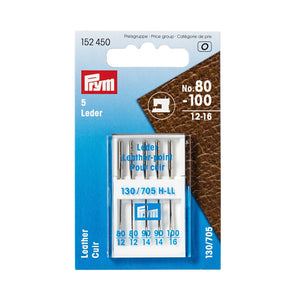 Leather sewing machine needles - 130/705 - 80-100 assorted