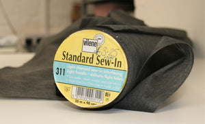 Charcoal Lightweight Sew-in Interfacing
