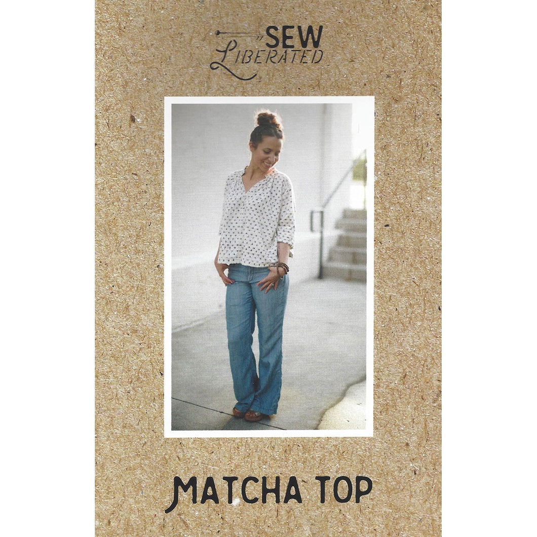 Matcha Top - Sew Liberated