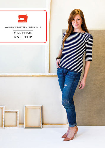 Maritime Knit Top - Liesl + co