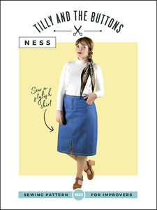 Ness Skirt - Tilly and the Buttons