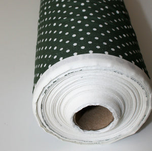 Old Green Dot - Cotton Poplin