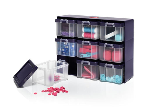 Organizer box with 9 boxes