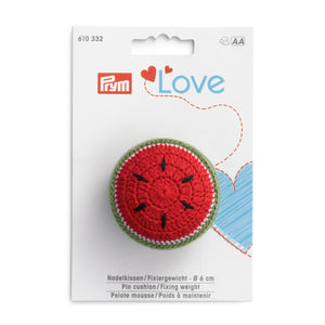 Pin cushion/Fixing weight - Prym Love - Watermelon