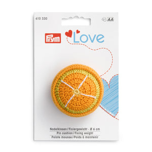 Pin cushion/Fixing weight - Prym Love - Orange