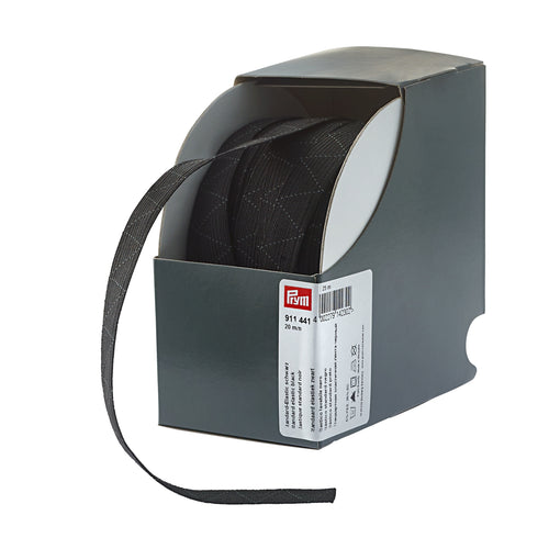 Prym Standard elastic - 20mm - black