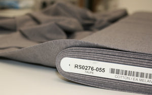 Taupe Grey - Cotton Jersey