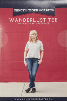 Wanderlust Tee - Fancy Tiger Crafts