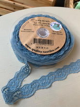 Asley Blue - Stretch Lace - 20mm