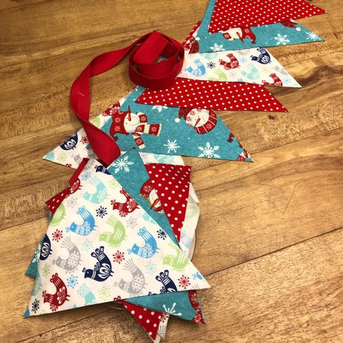 Adult, Beginners, Christmas Bunting, Workshop