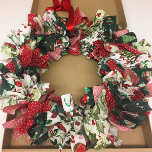 Adult, Beginners, Rag Wreath, Workshop