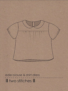 edie blouse & shirtdress - two stitches