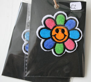 Fun Flower - Iron On Motif