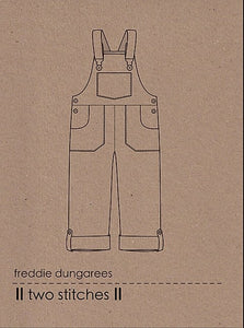 freddie dungarees - two stitches