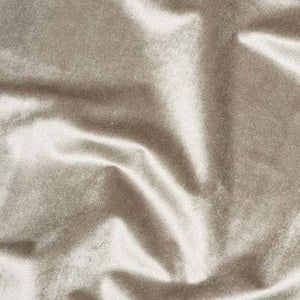 Glamour Silver - Soft Furnishing Velvet