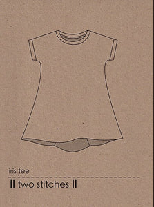 iris tee - two stitches