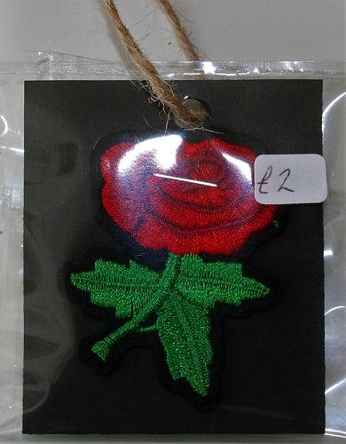 Rose - Iron On Motif