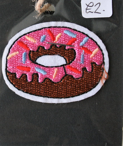 Small Doughnut - Iron On Motif