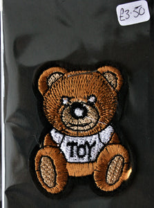 Teddy Bear - Iron On Motif