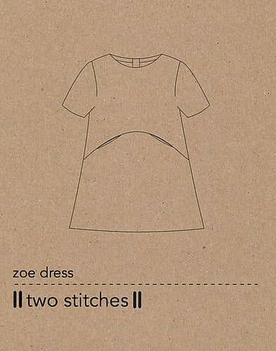 zoe dress - two stitches