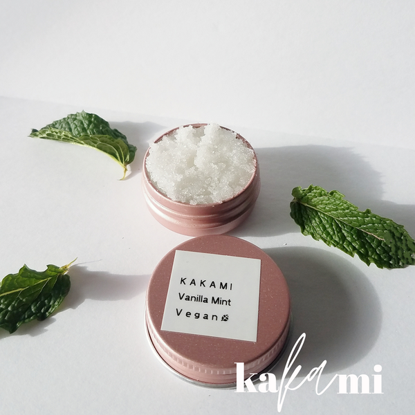 Vanilla Mint Lip Scrub | Vegan