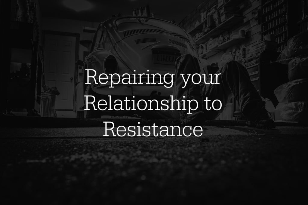 Repairing your relationship to resistance (Payment Plan)