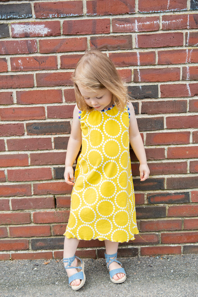 golden glow vida dress