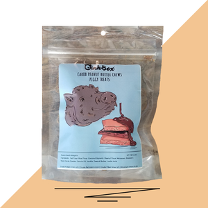 OinkBox Carob Peanut Butter Chew Pig Treats