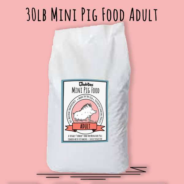 30LB Mini Pig Food ADULT