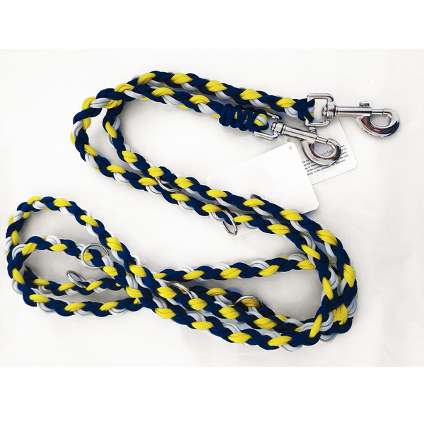 OinkBox pig harness - blue yellow