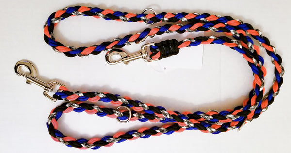 OinkBox Pig Harness Broncos Blue Orange