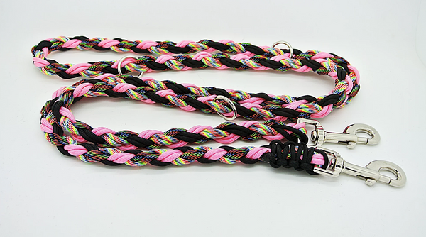 OinkBox Pig Harness - Cosmic Pink Rose