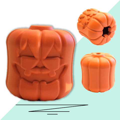 Pumpkin Treat Dispensing Toy
