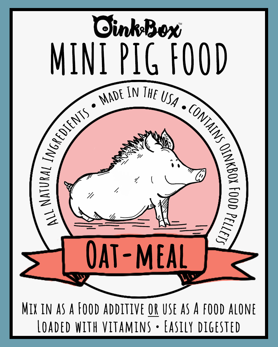 OinkBox Oatmeal Mini Pig Food
