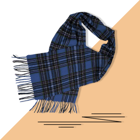 Piggy Plaid Scarf