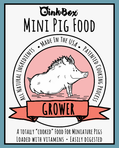 Mini Pig Food JR. (For pigs up to 1 ½ years of age)