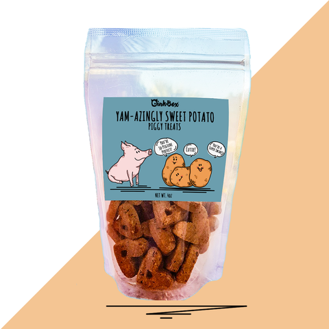 OinkBox Organic Sweet Potato Piggy Treats