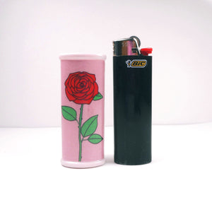 Rose Bic Lighter Case