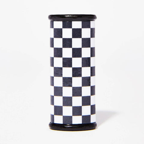 Black and White Checkerboard Bic Lighter Case