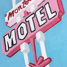 """Motel"" Oil Painting"