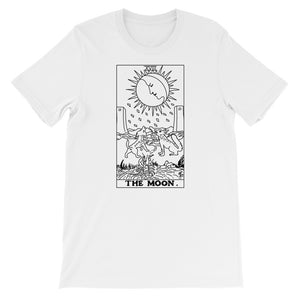 The Moon Tarot Card T-Shirt