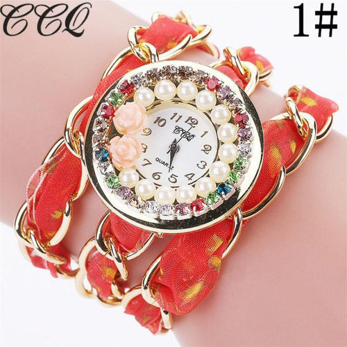 Rhinestone Crystal Watch